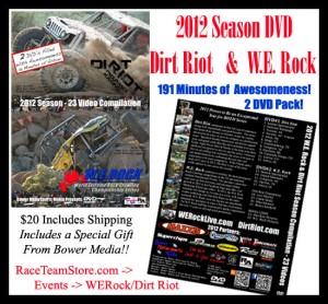 WERock DVD dirt riot