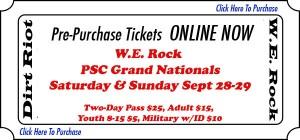 WERock Grand Nationals Ticket