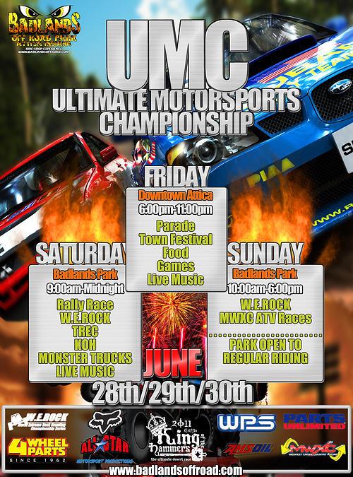 umc championship flier