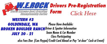 western 3 werock driver prereg