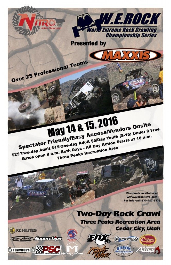 Cedar City WE Rock 2016